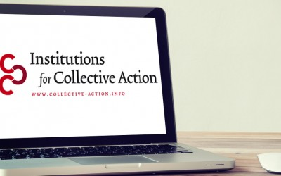 Institute for Collective Action's latest newsletter now online